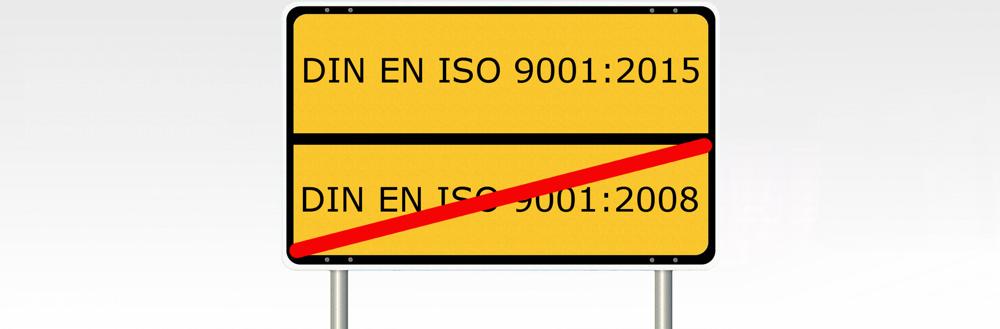 Der Weg zur neuen ISO 9001:2015