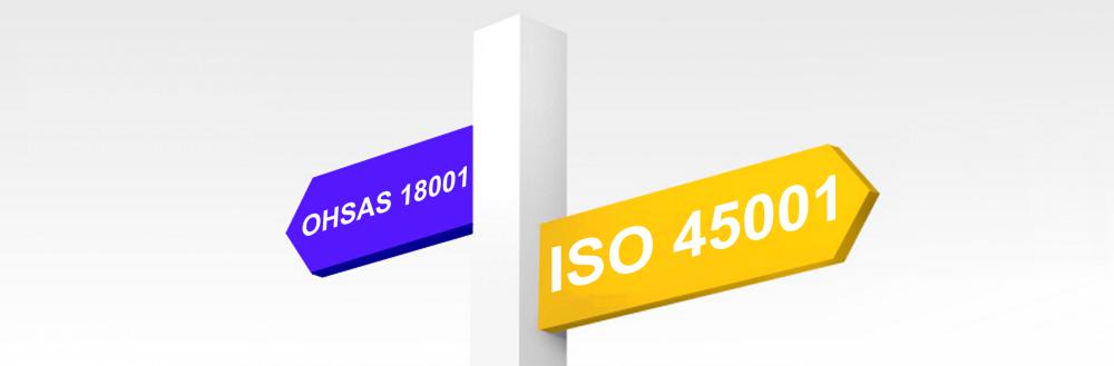 Von der OHSAS 18001 zur ISO 45001