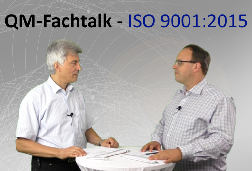QM Fachtalk – Update ISO 9001:2015